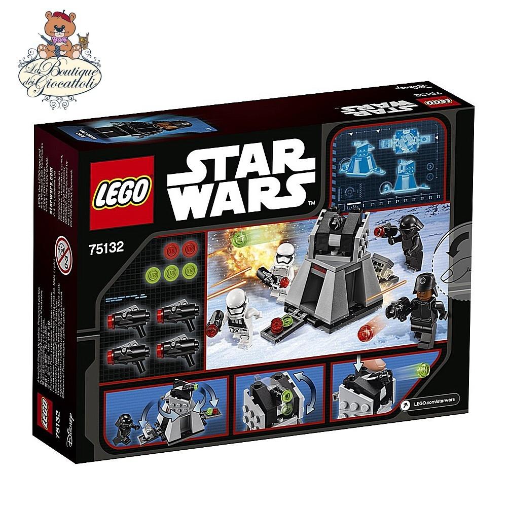 STAR WARS 6-12anni LEGO 75132 Battle Pack Primo Ordine